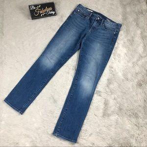 Gap 1969 Women's Denim Jeans Real Straight Leg